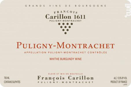 Puligny-Montrachet - Domaine François Carillon - 2016 - Blanc