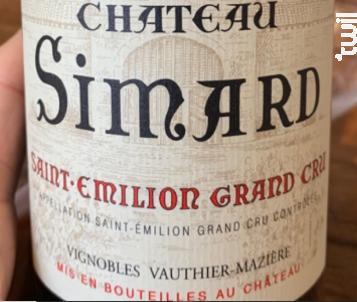 Château Simard - Château Simard - 2012 - Rouge