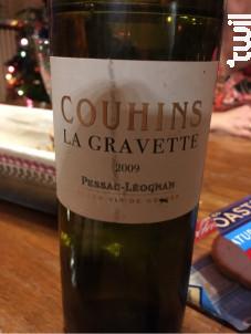 Couhins la Gravette - Château Couhins - 2009 - Blanc
