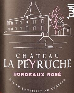Bordeaux Rosé - Château La Peyruche - 2019 - Rosé