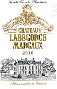 Château Labégorce - Château Labégorce - 2010 - Rouge