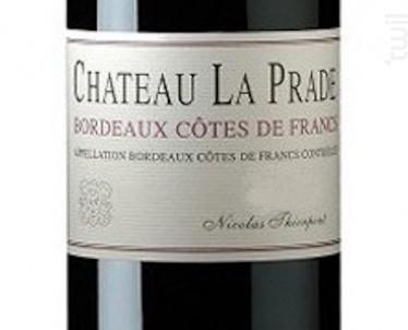 Château La Prade - Château de Prade - 2011 - Rouge