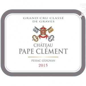 Château Pape Clément - Château Pape Clément - 2015 - Rouge