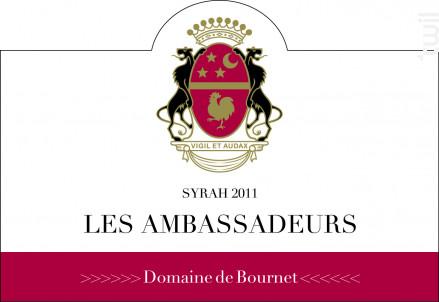 Les Ambassadeurs - Domaine de Bournet  IGP Ardèche - 2011 - Rouge