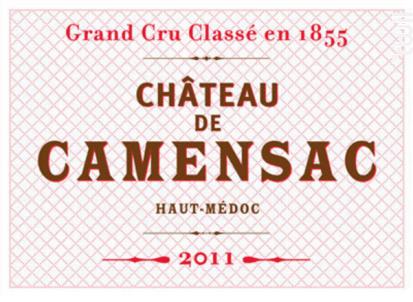 Château Camensac - Château de Camensac - 2019 - Rouge