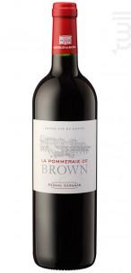 La Pommeraie de Brown - Château Brown - 2016 - Rouge