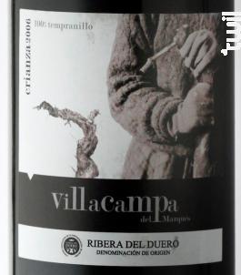 Villa Campa Crianza - Cepas y Bodegas - 2017 - Rouge