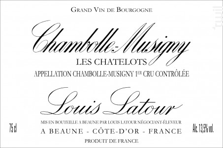 Chambolle-Musigny 1er Cru