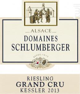 Riesling Grand Cru Kessler - Domaines Schlumberger - 2013 - Blanc