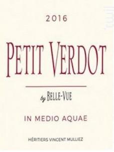 Petit Verdot - Château BELLE-VUE - Vincent Mulliez - 2016 - Rouge
