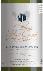 Château Haut-Gayat - Vignobles Degas - Château Haut-Gayat - 2014 - Blanc