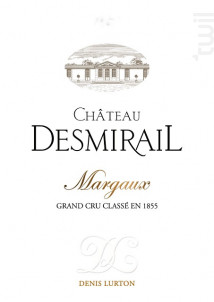Château Desmirail - Denis Lurton - Château DESMIRAIL - 2018 - Rouge