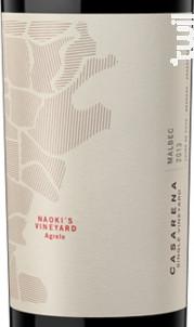 Naoki's vineyard - MALBEC - Casarena - 2014 - Rouge