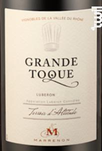 Grande Toque - Marrenon - 2019 - Rouge