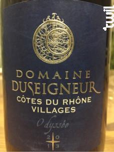 Odyssée - Domaine Duseigneur - 2017 - Rouge