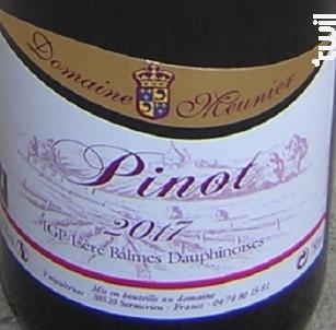 Pinot - Domaine Meunier - 2017 - Rouge