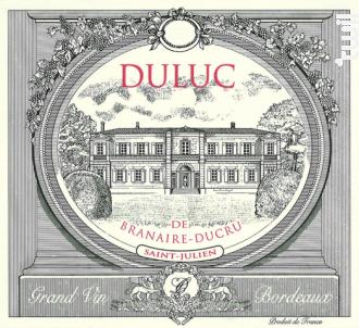 Duluc de Branaire-Ducru - Château Branaire-Ducru - 2011 - Rouge