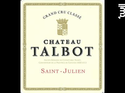 Château Talbot - Château Talbot - 2010 - Rouge