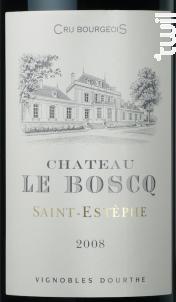 Château le Boscq - Vignobles Dourthe- Château le Boscq - 2009 - Rouge