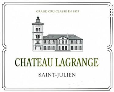 Château Lagrange - Château Lagrange - 2016 - Rouge