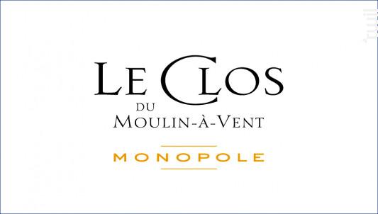 Le Clos du Moulin-à-Vent - Domaine Labruyère - 2012 - Rouge