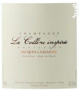 La Colline Inspirée - Champagne Jacques Lassaigne - Non millésimé - Effervescent