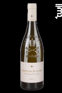 Château Sixtine - Château Sixtine - 2016 - Blanc