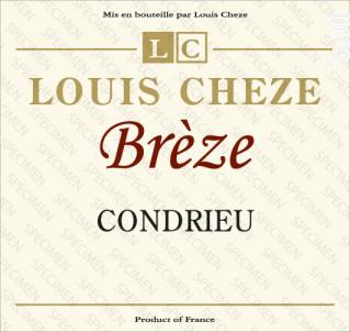 Brèze - Domaine Louis Cheze - 2017 - Blanc