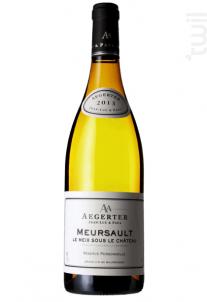 Meursault Meix sous le Château - Jean Luc et Paul Aegerter - 2016 - Blanc