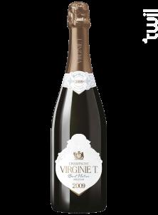 Millésimé 2009 Brut Nature - Champagne VIRGINIE T. - 2009 - Effervescent