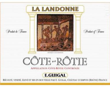 La Landonne - Maison Guigal - 2015 - Rouge
