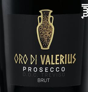 Prosecco Oro di Valerius - Liquoristerie de Provence - Non millésimé - Effervescent