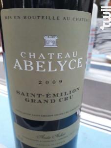 Saint Emilion Grand Cru - Château Abelyce - 2007 - Rouge
