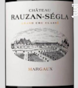 Château Rauzan-Ségla - Château Rauzan-Ségla - 2018 - Rouge