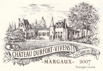 Château Durfort-Vivens - Château Durfort-Vivens - 2015 - Rouge