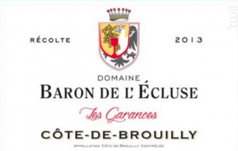 Les Garances - Domaine Baron de l'Ecluse - 2016 - Rouge