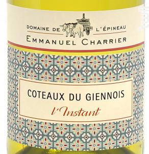 L'Instant - Domaine de l'Epineau - 2018 - Blanc