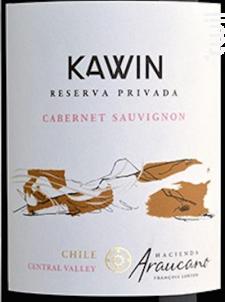 Cabernet Sauvignon KAWIN - François Lurton - Hacienda Araucano - 2015 - Rouge