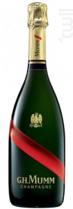 Mumm Grand Cordon Rouge avec Etui - G.H. Mumm - Non millésimé - Effervescent