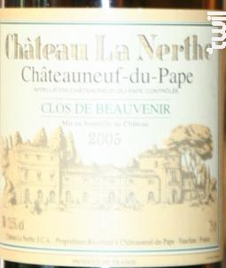 Clos de Beauvenir - Château la Nerthe - 1999 - Blanc