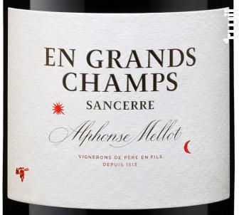 En Grands Champs - Alphonse Mellot - 2016 - Rouge