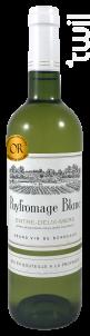 Puyfromage Blanc - Château Puyfromage - 2018 - Blanc