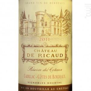 Château De Ricaud - Vignobles Dourthe - Château de Ricaud - 2015 - Rouge