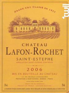 Château Lafon-Rochet - Château Lafon-Rochet - 2006 - Rouge