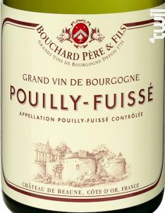 Pouilly-fuissé - Bouchard Père & Fils - 2016 - Blanc