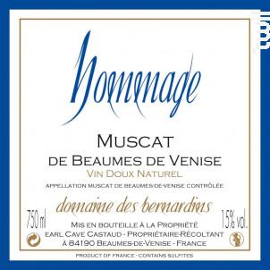 Hommage - Domaine Des Bernardins - Non millésimé - Blanc