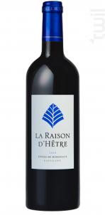 La Raison D'hêtre - L'HÊTRE - 2016 - Rouge