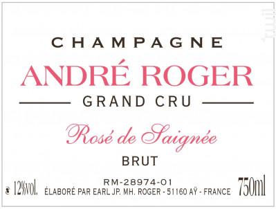 Rosé de Saignée - Champagne André Roger - Non millésimé - Rosé