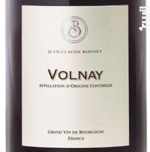 Volnay - Jean-Claude Boisset - 2013 - Rouge