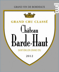 Château Barde-Haut - Château Barde-Haut - 2017 - Rouge